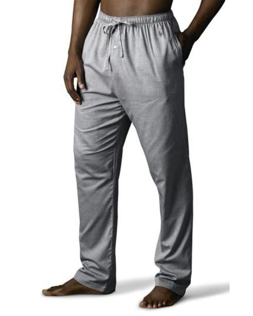 Polo Ralph Lauren - Gray Pajama Pants for Men - Lyst