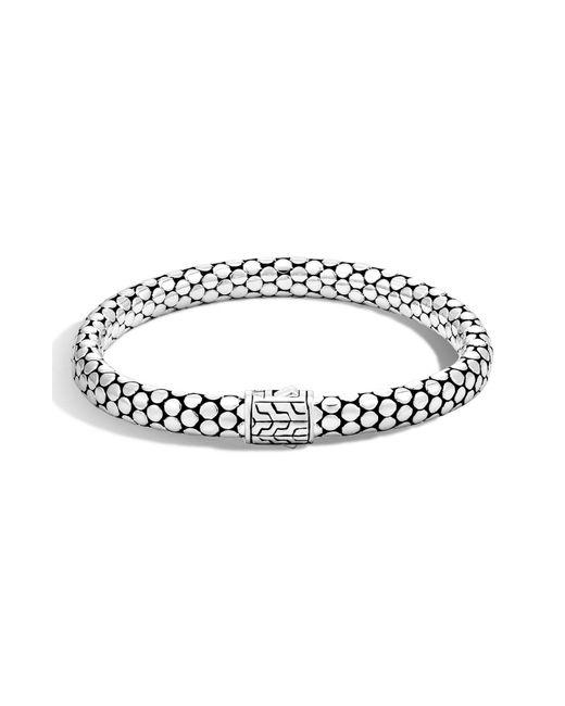 John Hardy - Metallic 'dot' Small Chain Bracelet - Lyst