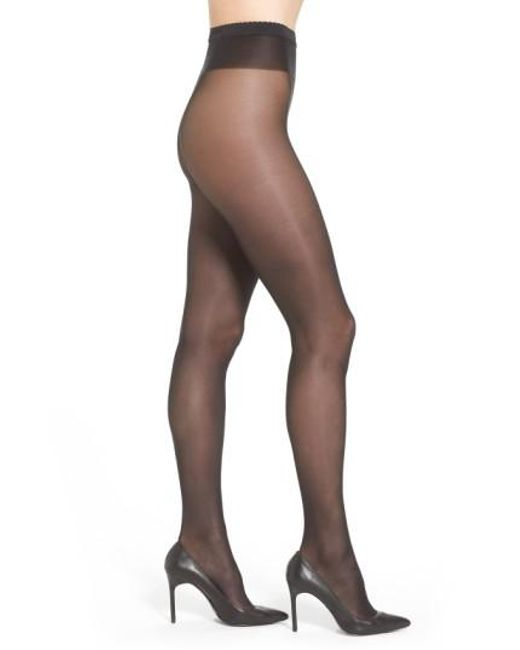 Wolford - Black 'neon 40' Pantyhose - Lyst