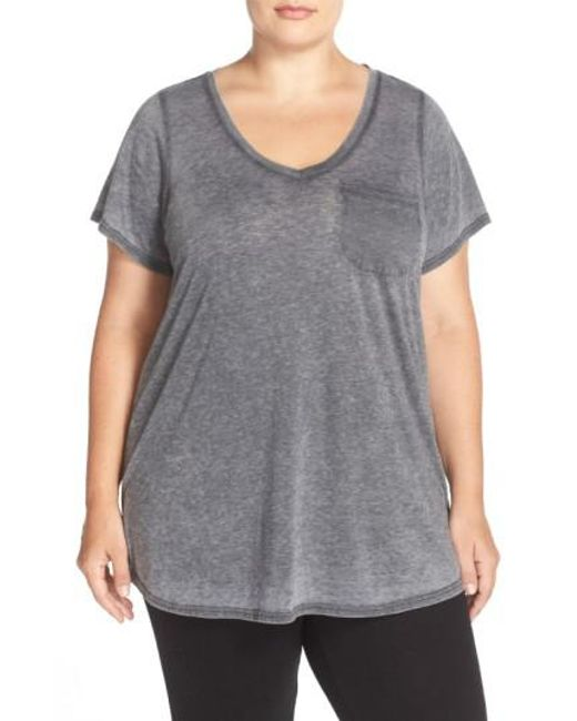 Make + Model - Gray 'gotta Have It' V-neck Tee - Lyst