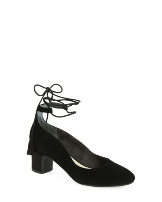 Seychelles | Black Trick Lace-up Pump | Lyst