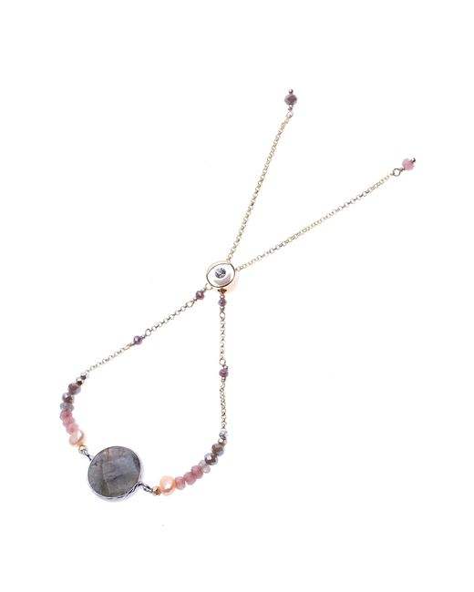 Nakamol Metallic Pendant Bracelet