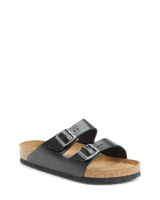 Birkenstock Black Arizona Soft Slide Sandal for men