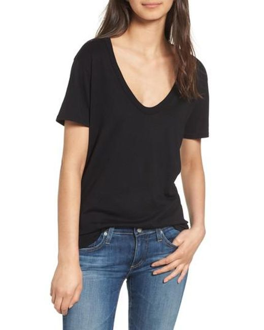 AG Jeans | Black Henson Tee | Lyst