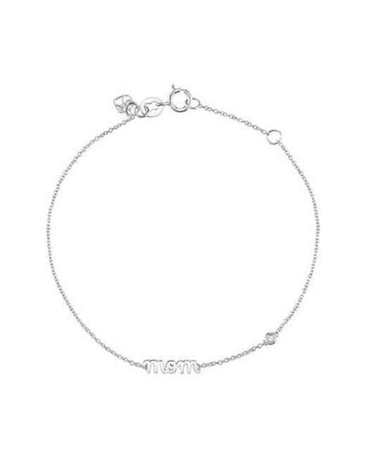 Shy By Sydney Evan - Metallic Mom Chain Bracelet - Lyst