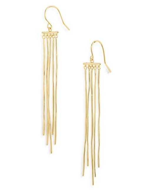 Gorjana - Metallic Josey Drop Earrings - Lyst
