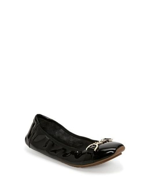 Me Too | Black Brielle Flat | Lyst