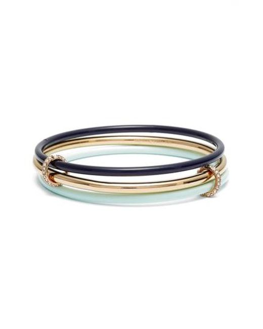 Kate Spade - Multicolor In A Flash Set Of Three Bangles - Lyst