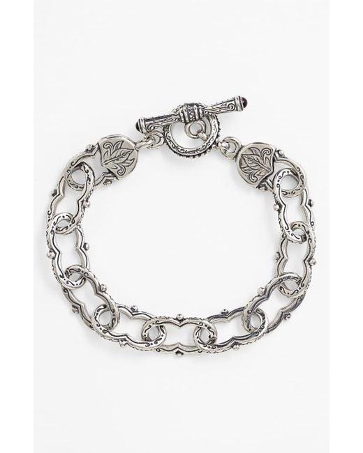 Konstantino - Metallic 'classics' Link Toggle Bracelet - Lyst