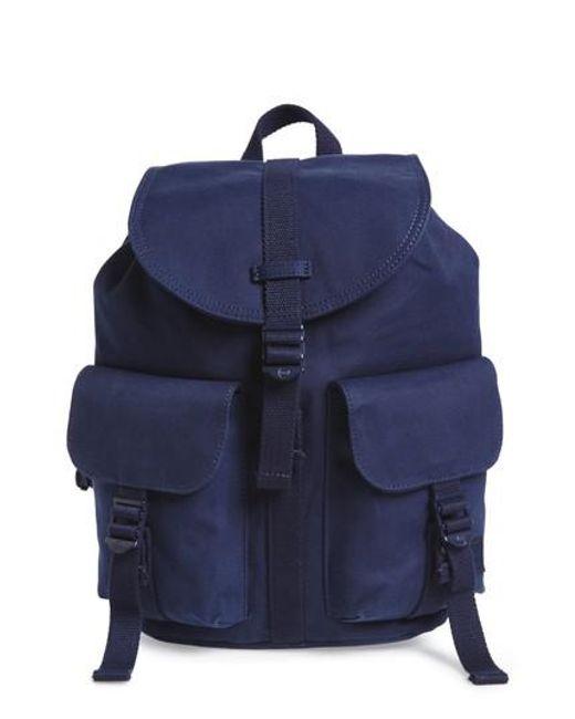 Herschel Supply Co. - Blue X-small Dawson Canvas Backpack - Lyst