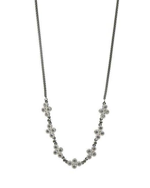Freida Rothman | Metallic Industrial Finish Chain Necklace | Lyst