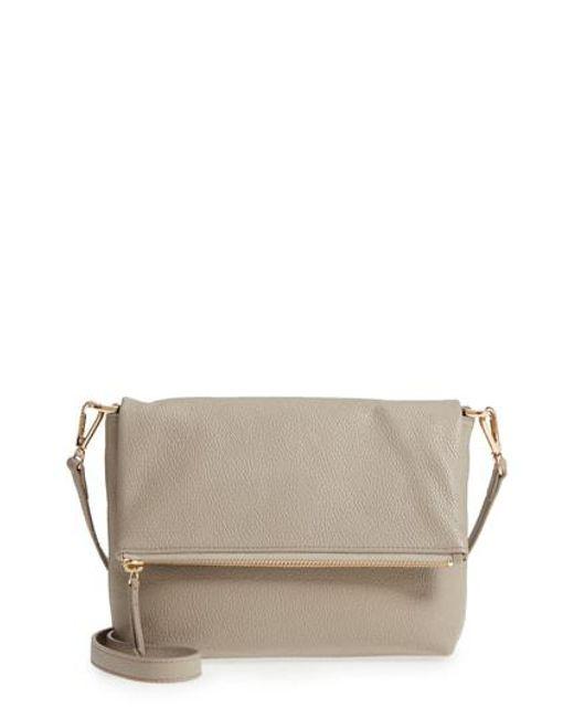 Nordstrom Multicolor Ava Foldover Crossbody Bag Lyst