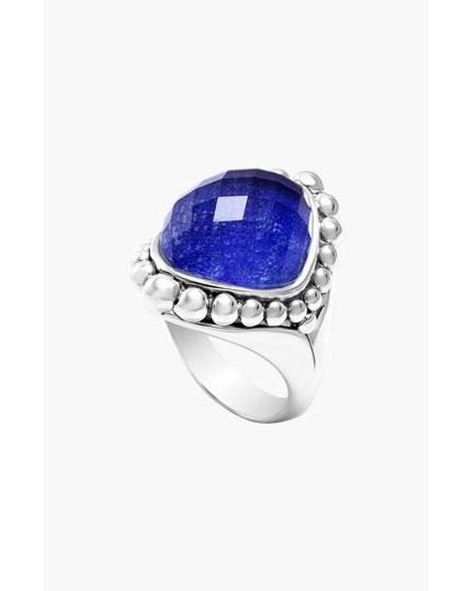 Lagos - Blue Maya Stone Ring - Lyst
