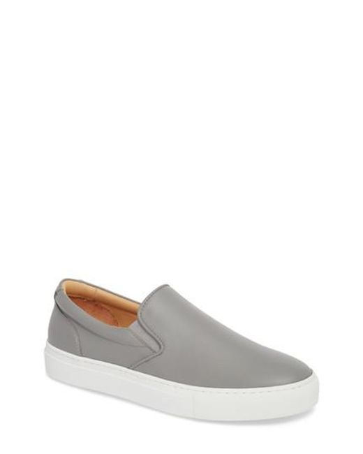 GREATS - Gray Wooster Slip-on Sneaker for Men - Lyst