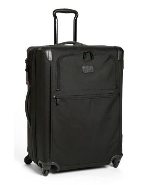 Tumi | Black 'alpha 2' Short Trip Rolling Four Wheel Packing Case for Men | Lyst