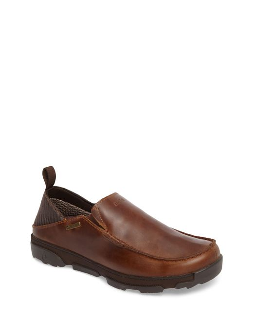 Olukai - Brown Na'i Collapsible Waterproof Slip-on for Men - Lyst