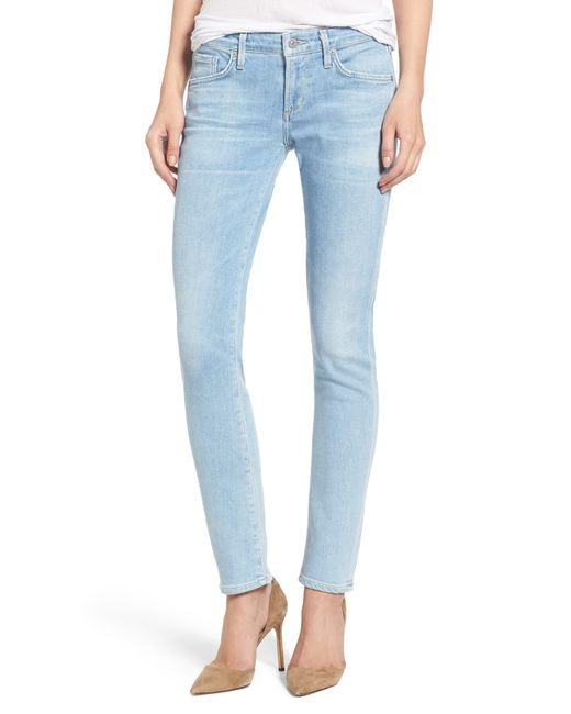 Citizens of Humanity Blue Racer Skinny Jeans