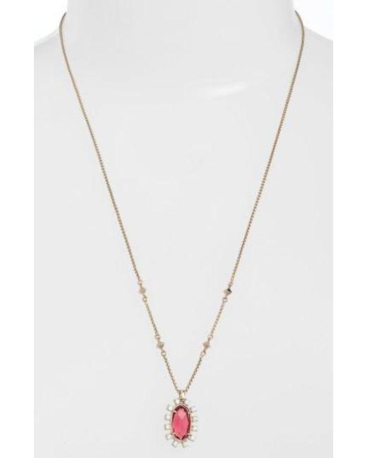 Kendra Scott - Metallic Convertible Pendant Necklace - Lyst