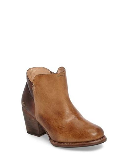 Bed Stu - Brown Yell Bootie - Lyst
