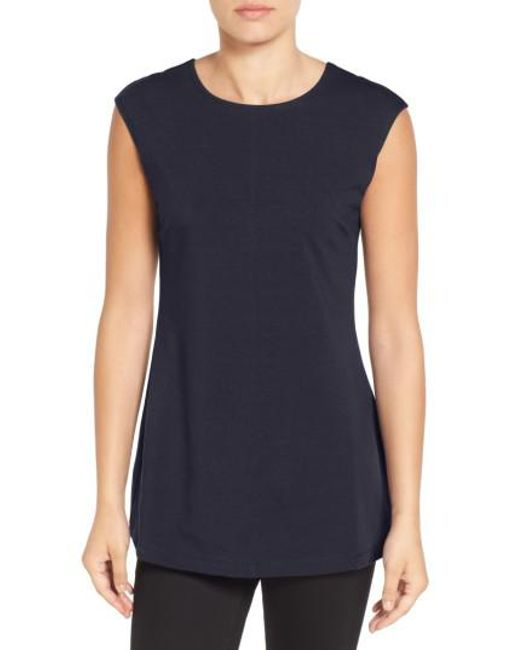 NIC+ZOE | Blue 'perfect Layer' Tank | Lyst