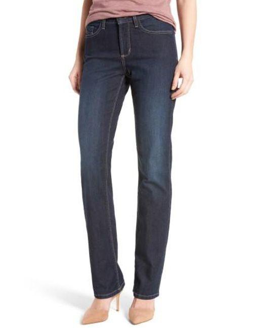 NYDJ - Blue Marilyn Bootcut Stretch Jeans - Lyst