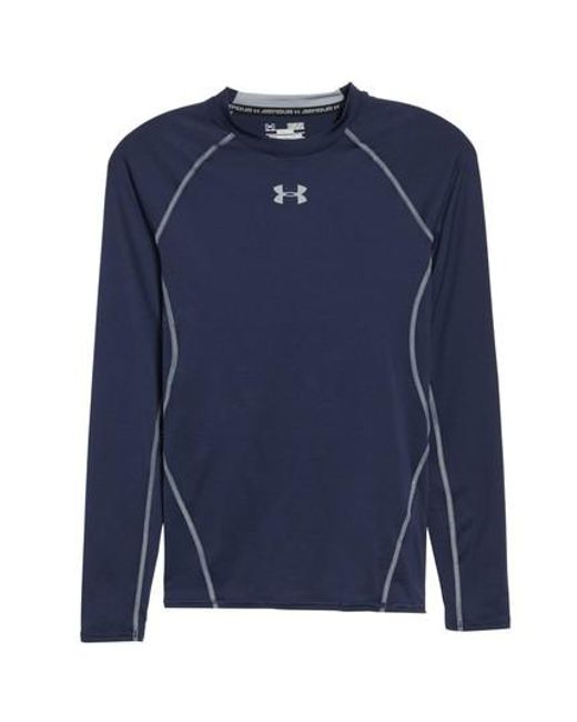 Under Armour - Blue Heatgear Compression Fit Long Sleeve T-shirt for Men - Lyst