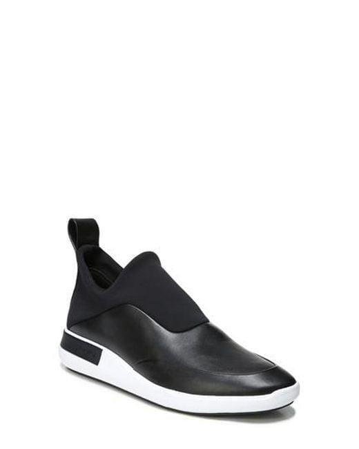 Via Spiga - Black Munro Slip-on Sneaker - Lyst