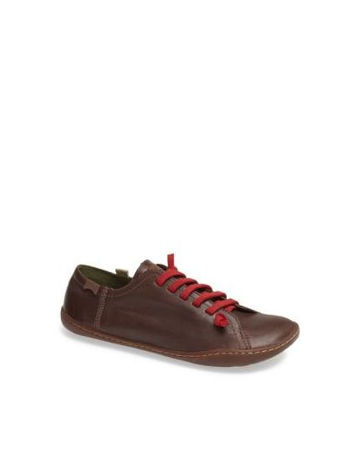 Camper | Brown Peu Cami Leather Sneakers | Lyst