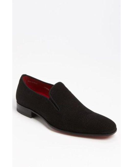 Mezlan - Black 'crespi' Slip-on for Men - Lyst