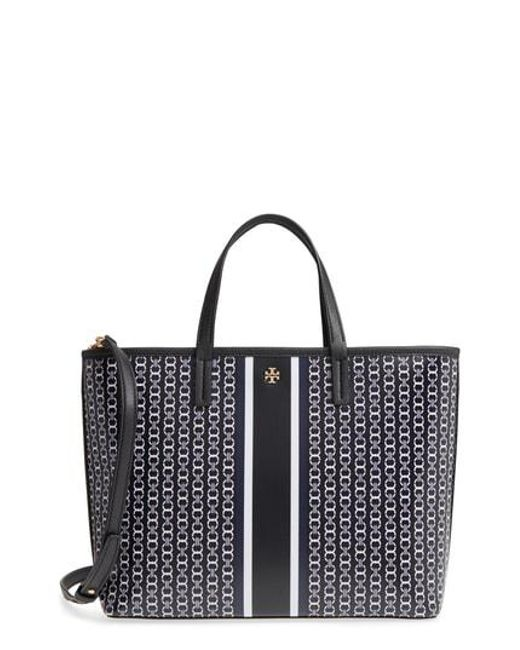 Tory Burch - White Small Gemini Link Tote - - Lyst