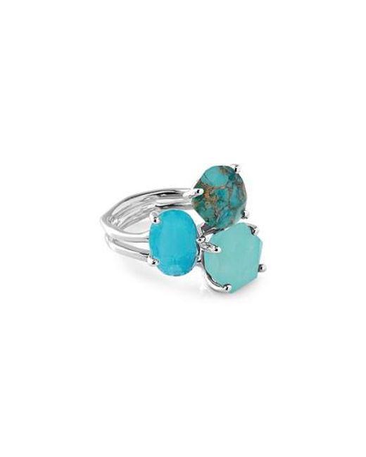 Ippolita - Blue Rock Candy Semiprecious Stone Ring - Lyst
