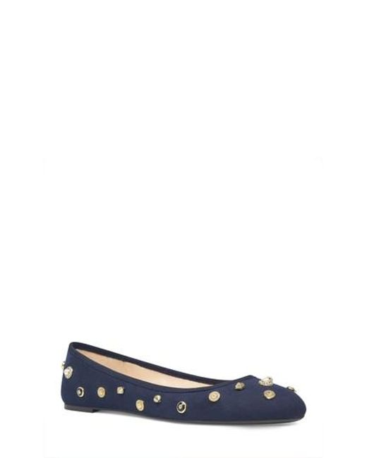 Nine West | Multicolor Morton Skimmer Flat | Lyst