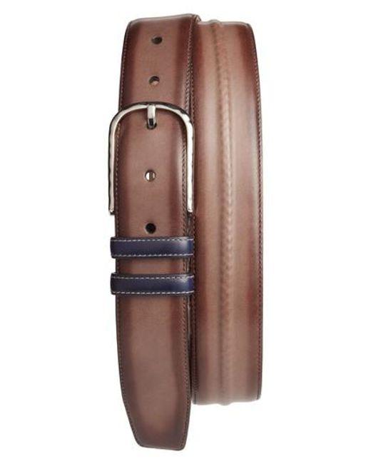 Mezlan | Brown Leather Belt for Men | Lyst