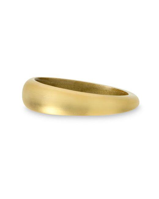 Alexis Bittar Yellow 'organic' Tapered Bangle Bracelet