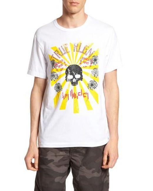 True Religion | White Rising Sun Graphic T-shirt for Men | Lyst