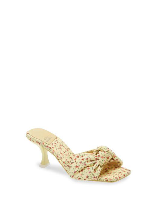 Jeffrey Campbell Multicolor Bow Slide Sandal