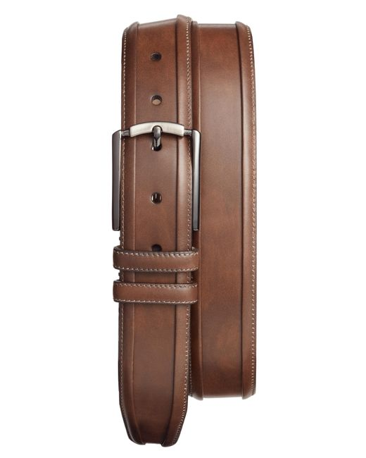Mezlan - Brown Tequila Leather Belt for Men - Lyst
