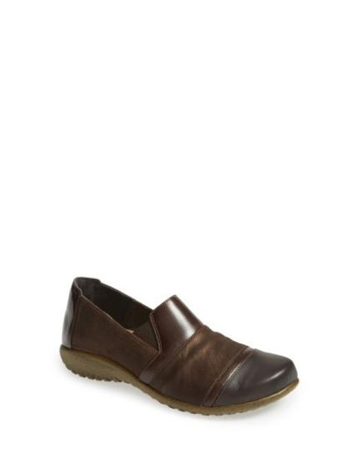 Naot - Brown 'miro' Loafer - Lyst