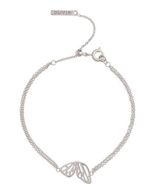 Olivia Burton - Metallic Butterfly Wing Bracelet - Lyst