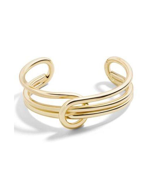 BaubleBar - Metallic Shyanna Cuff Bracelet - Lyst