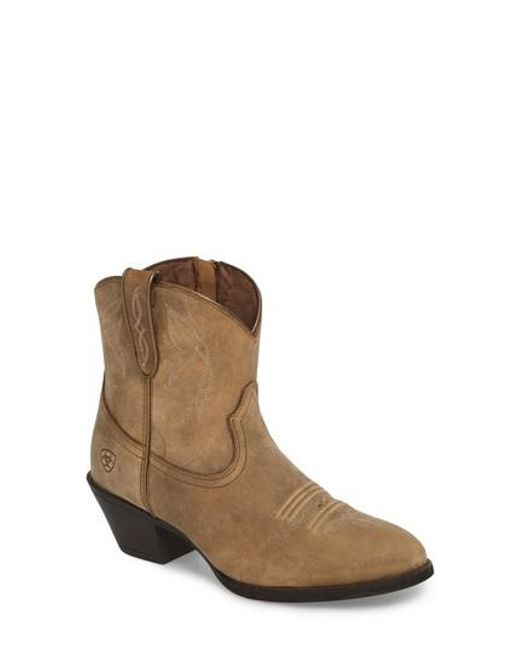 Ariat - Brown Darlin Short Western Boot for Men - Lyst