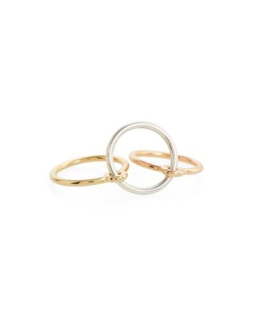 Charlotte Chesnais Three Lovers bracelet - Metallic UXZaOTVgmM