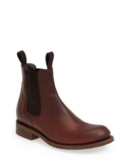 Sendra - Brown 'al' Chelsea Boot for Men - Lyst