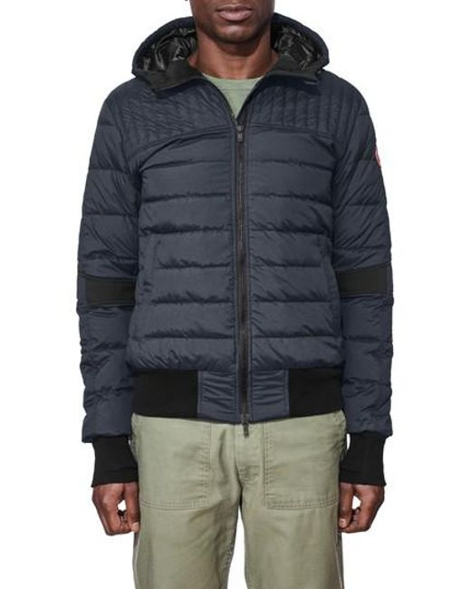 Canada Goose | Blue Cabri Hooded Down Jacket for Men | Lyst