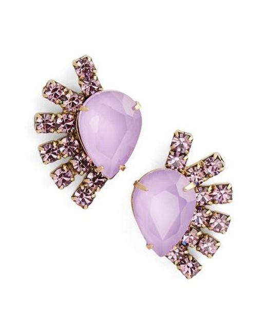 Loren Hope | Multicolor Olivia Stud Earrings | Lyst