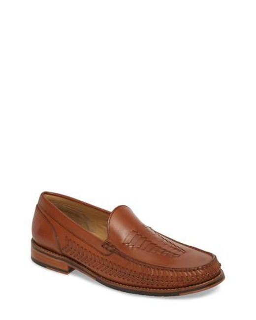 Tommy Bahama - Brown Hasslington Woven Venetian Loafer for Men - Lyst