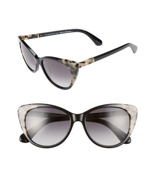 Kate Spade   Black Sherylyn 54mm Sunglasses   Lyst