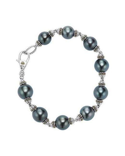 Lagos - Multicolor Pearl Bracelet - Lyst