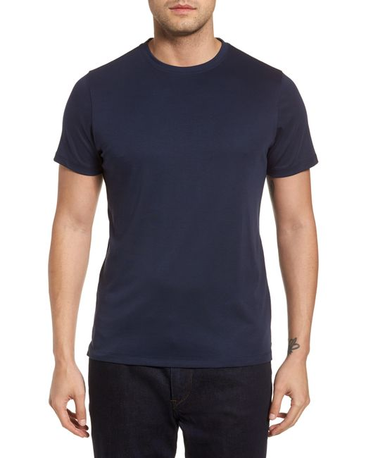 Robert Barakett Blue Georgia Crewneck T-shirt for men