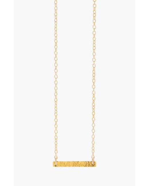 Gorjana | Metallic 'knox' Pendant Necklace | Lyst